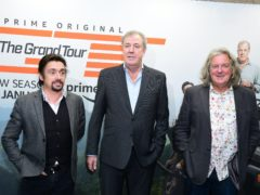Richard Hammond, Jeremy Clarkson and James May (Ian West/PA)