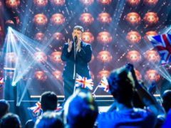 Michael Rice, who won the public vote to represent the UK at the cancelled Eurovision Song Contest in Israel (Guy Levy/BBC)