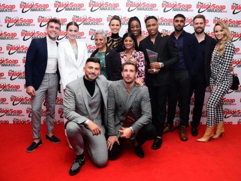 The Hollyoaks cast (Ian West/PA)