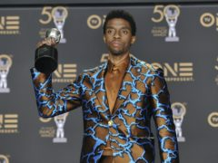 The MTV Video Music Awards were dedicated to Black Panther star Chadwick Boseman, following his death aged 43 (Richard Shotwell/Invision/AP, File)