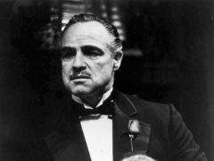 Marlon Brando as Vito Corleone in the film The Godfather (PA)