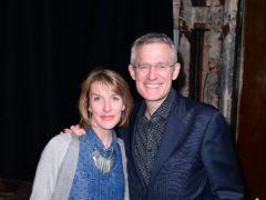 Rachel Schofield and Jeremy Vine (Ian West/PA)