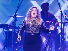 Kelly Clarkson has opened up on her divorce and suggested it came out of the blue (Danny Lawson/PA)