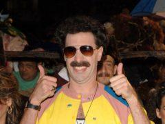 Sacha Baron Cohen's sequel to the 2006 hit comedy Borat will premiere on Amazon Prime Video (Ian West/PA)