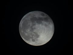 The definitive origins of the Moon are unknown (Aaron Chown/PA)