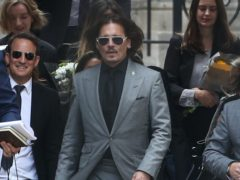 Johnny Depp has requested a delay in his US defamation trial with ex-wife Amber Heard to accommodate filming for the latest Fantastic Beasts movie (Yui Mok/PA)