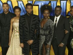 Michael B Jordan has paid an emotional tribute to his Black Panther co-star Chadwick Boseman (Joel C Ryan/Invision/AP, File)
