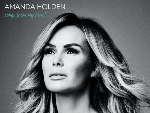 Amanda Holden's album is titled Songs From My Heart (Universal Records/PA)