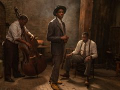 Chadwick Boseman stars as an ambitious trumpeter in the trailer for his final film Ma Rainey's Black Bottom (David Lee/Netflix/PA)