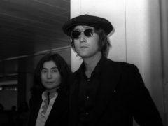 John Lennon and Yoko Ono in 1971 (PA)