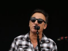 Bruce Springsteen has urged Americans to vote Donald Trump out of the White House, sharing a passionate denunciation of the president (Lewis Whyld/PA)
