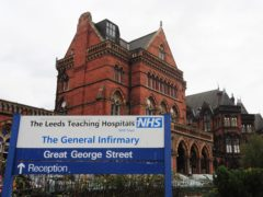 A general view of Leeds General Infirmary (Anna Gowthorpe/PA)