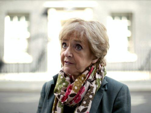 Dame Margaret Hodge (Yui Mok/PA)