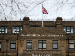 Bradford Royal Infirmary in Bradford (Lynne Cameron/PA)