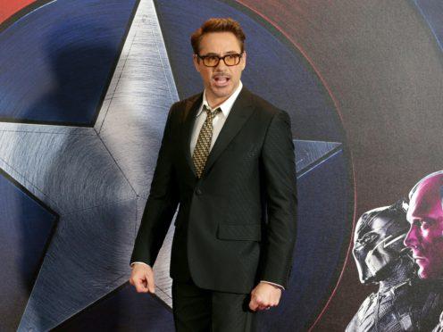 Robert Downey Jr has defended Marvel co-star Chris Pratt after the actor was criticised on social media (Daniel Leal-Olivas/PA)