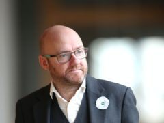Co-leader Patrick Harvie spoke at the Scottish Green Party conference (Jane Barlow/PA)