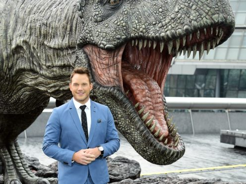Chris Pratt is set to star in Jurassic World: Dominion, which has been delayed (Ian West/PA)