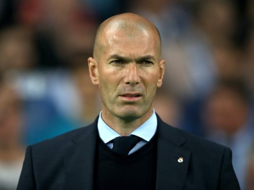 Real Madrid manager Zinedine Zidane wants his side to start well in the Clasico against Barcelona on Saturday (Nick Potts/PA)