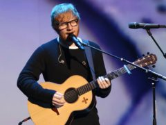 Ed Sheeran (Greg Allen/PA)