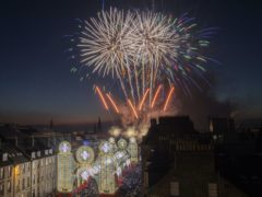 Police say they expect more private firework events this year (Jane Barlow/PA)