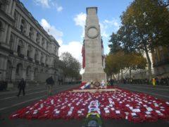 The Cenotaph memorial in Whitehall (Victoria Jones/PA)