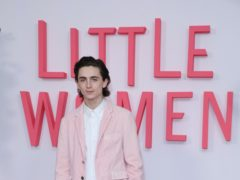 Timothee Chalamet has admitted he was 'embarrassed' after pictures of him kissing his then-girlfriend Lily-Rose Depp on a yacht emerged last year (Isabel Infantes/PA)