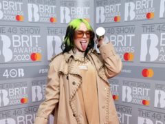 Billie Eilish has teased the music video for James Bond title track No Time To Die ahead of its long-awaited release (Ian West/PA)