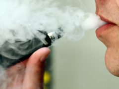 Scientists said electronic cigarettes containing nicotine are more effective in helping smokers quit than gum or patches (Nick Ansell/PA)
