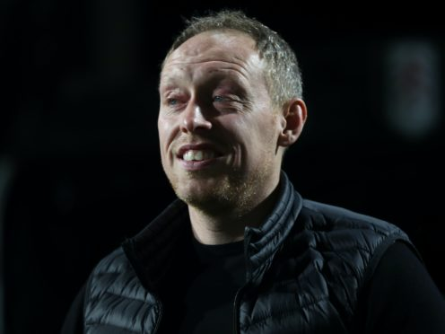Steve Cooper's Swansea are second in the Championship table (PA)