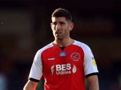 Ched Evans scored for Fleetwood (Mike Egerton/PA)