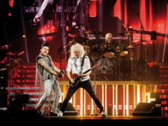 Queen and Adam Lambert (Brojan Hohnjec/Miracle Productions/PA)