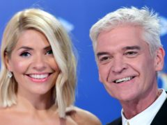 Phillip Schofield has heaped praise on his co-host Holly Willoughby (Ian West/PA)