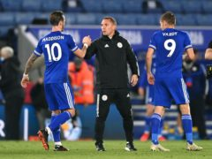 Leicester manager Brendan Rodgers wants his side to embrace their fixture list (Laurence Griffiths/PA)