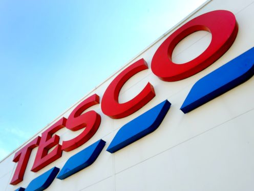 Tesco has apologised for the mistake (Nick Ansell/PA)