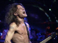 Eddie Van Halen has been described by some of his peers as 'Mozart for guitar' (AP Photo/Tom Hood, File)