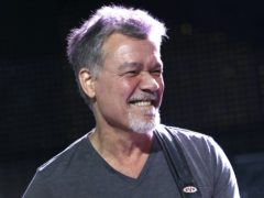 The world of rock and roll is mourning the 'Mozart for guitar' Eddie Van Halen following his death at the age of 65 (Greg Allen/Invision/AP, File)