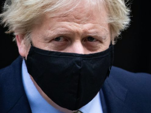 Prime Minister Boris Johnson leaves 10 Downing Street to attend Prime Minister's Questions, at the Houses of Parliament, London.