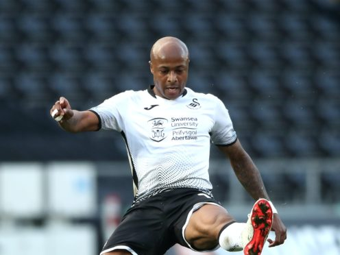 Andre Ayew led by example for Swansea (Nick Potts/PA)