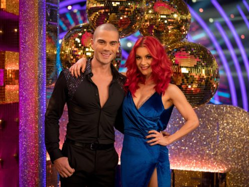 Max George is among the Strictly Come Dancing stars sharing their preparations ahead of the show's kick-off (BBC/PA)