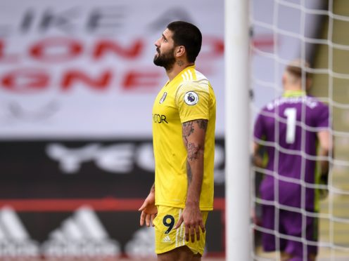 Fulham manager Scott Parker has backed Aleksandar Mitrovic, pictured, to bounce back following a poor performance against Sheffield United (Oli Scarff/PA)