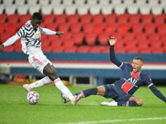 Axel Tuanzebe was superb for Manchester United at PSG (PA Wire via ABACA)