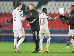 Ole Gunnar Solskjaer's Manchester United edged PSG away (ABACA/PA)