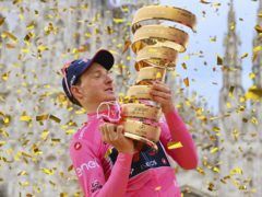 Britain's Tao Geoghegan Hart won the Giro d'Italia on Sunday (Gian Mattia D'Alberto/AP/PA)