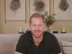 The Duke of Sussex speaks from his home in Santa Barbara, California (British GQ/PA)
