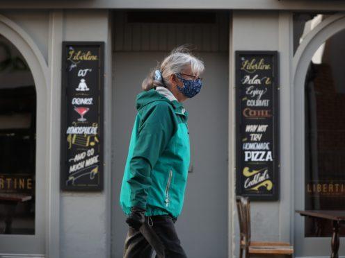 A closed restaurant in Hamilton, Lanarkshire (Andrew Milligan/PA)