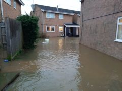Flooding in Haydon Wick, Wiltshire (Dorset & Wiltshire Fire & Rescue Service/PA)