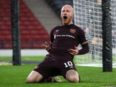 Liam Boyce takes Hearts to Scottish Cup final (Andrew Milligan/PA)