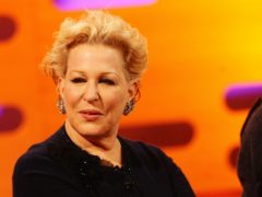 Bette Midler (Ian West/PA)
