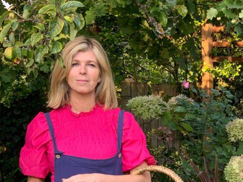 Kate Garraway told Gardeners' World her garden has helped her family through her husband's illness (BBC/PA)
