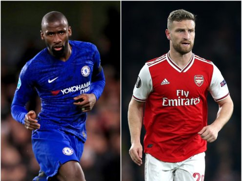 Antonio Rudiger and Shkodran Mustafi feature in today's transfer rumour mill (Adam Davy/Nigel French/PA)